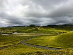 The beauty of Iceland (Jamie McCaffrey) Tags: 2016 august clouds fjarargljufur iceland iphone landscape road rolling rollinghills smartphone southiceland outdoor nature horizon cloudy