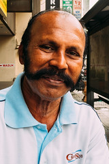 Mr. Sathiya, Mustache-Man