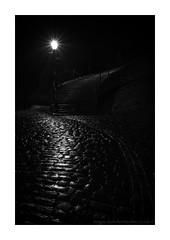 After Dark (www.damientaylor.co.uk) Tags: blog dark whitby night nocturne nocturnal shadows hidden street wet cobbles rain gaslamp steps 199steps northyorkshire yorkshire