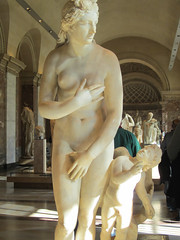 marble statues at The Louvre (bronxbob) Tags: paris france thelouvre museums artmuseums sculpture statues statuary marble