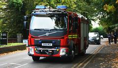 West Midlands Fire Service, Fire Engine DX16 MGU (photobobuk - Robert Jones) Tags: westmidlandsfireservice fireengine 999 emergency fire safety public birmingham uk