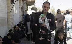 Yazd, Iran - Ashura ($ALEH) Tags: iranian kids father children child baby aliasghar