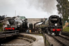 7F and Manston (Jack Haynes Photography) Tags: swanage railway autumn steam gala 2016 dorset purbeck locomotive heritage 53809 34070 manston