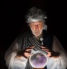 The Swami (arag2000) Tags: swami medium gypsy clairvoyant mindreading prophet prophecy prognosticator prognostication prediction forecasting esp wizard magic future crystalball reading occult unitedstatesofamerica