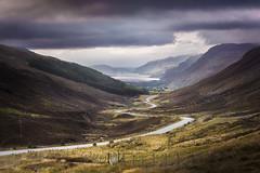 Glen Docherty (Neillwphoto) Tags: glendocherty lochmaree highlands scotland hills road dark stormy