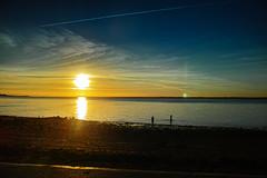 Gurnard  (1) (Duncan Knifton) Tags: sigma merrill dp1 cowes gurnard isle of wight sunset 19mm seafront