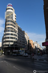 MADRID (gtmdreams) Tags: madrid espaa spain city skyline tower torres rascacielos ayuntamiento ciudad alcala street calles cibeles skyscraper