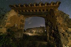 the door. (Z3NN01) Tags: nightphotography stars orion building abandoned architecture sky longexposition valencia valenciancommunity spain alcublas fotografianocturna nikond7100 nikon tokina1116 travel nightscape