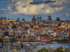 Galata Tower from Suleymaniye (mcy.yusufoglu) Tags: yusufoglumcy istanbul turkey nature naturebeauty galatatower galata tower galatakulesi suleymaniye view architectural