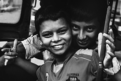 stories from the streets (Richik_Phoenix) Tags: children kolkata india street streetphotography poor distressed joy happiness brother love