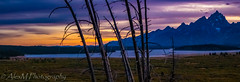 Sunset at Jackson Lake Lodge, Grand Teton (The Happy Traveller) Tags: sunset sunrisesunset scenery mountains grandtetonnationalpark usnationalparks nationalparks naturalbeauty