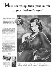 1932 Palmolive ad (Tom Simpson) Tags: palmolive 1932 1930s vintage soap ad ads advertising advertisement vintagead woman sexy vintageads