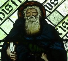 [45605] St Editha, Tamworth : Abraham (Budby) Tags: tamworth staffordshire church window stainedglass preraphaelite