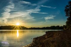 Lake Lanier Sunset (The Suss-Man (Mike)) Tags: clouds gainesville georgia hallcounty lake lakelanier lanier nature sky sonyslta77 sunset sussmanimaging thesussman water unitedstates reflection