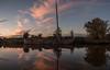 Schuitje varen .... (HoiteJouke.NL) Tags: winsum groningen netherlands nl blue hour sunset boat water reitdiep
