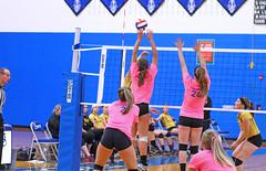 IMG_10196 (SJH Foto) Tags: girls volleyball high school lampeterstrasburg lampeter strasburg solanco team tween teen east teenager varsity net battle spike block action shot jump midair