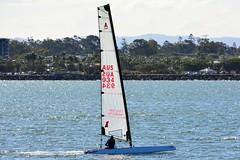 DSC_0371 (LoxPix2) Tags: loxpix queensland australia sailing catamaran trimaran nacra hobie arrow moth 505 maricat humpybongyachtclub humpybash aclass f18 mosquito laser bird spinnaker woodypoint