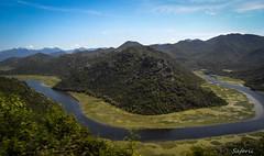 Meander (Safarii) Tags: montenegro europe water kotor holiday river nature rural meander wetland skadar hills mountain mountains summer sun balkans