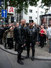 Folsom Berlin 2009 - 4027 (blacknshiny) Tags: leatherman folsom leatherjeans fullleather leather bluf