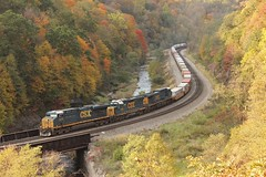 Q135-14 @ Foley (Clear333track1west) Tags: csx keystonesub train trains railroad railway bo ge es40dc csx5279 csx2769 csx312
