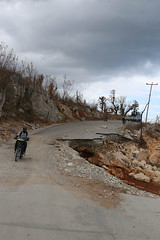 Road damaged (OCHAHaiti) Tags: haiti hurricane matthew ocha wfp un united nations