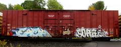 each - soak (timetomakethepasta) Tags: each soak freight train graffiti art boxcar wc wisconsin central