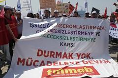 Bakan Sndr emekileri yalnz brakmad (bornovabelediyesi) Tags: alan turkey 1 mayor chp izmir kamil municipality bornova bayram meydan bakan okyay belediye ii mays emeki sndr