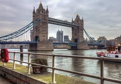 Tower Bridge (George M. Leonte) Tags: uk london towerbridge nikon tokina riverthames hdr d7000 1116mmf28 georgemleontephotography