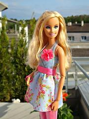 What a beautiful day ^^ (Deejay Bafaroy) Tags: portrait doll dress barbie portrt clothes mattel fashionistas kleid