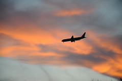 Bajandoooo (Picardo2009) Tags: sunset sky usa clouds plane atardecer dallas texas landing cielo nubes dfw fortworth grapevine avion icapture aterrizando flickrtravelaward