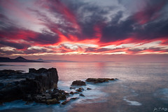 _MG_6482 (JF Marrero) Tags: light sunset red sea sky cliff cloud costa mountain color reflection texture textura water against colors grancanaria clouds marina reflections contraluz atardecer coast mar rojo agua rocks dusk stones canarias colores textures cielo nubes reflejo gran montaa puesta seashore ocaso islas texturas nube canaria acantilado rocas reflejos piedras laspalmas orilla islascanarias palmas againstthelight arucas baaderos puertillo hitechnd09reversegrad