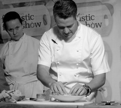 Chef Colin McGurran at Nigel Haworth's Fantastic Food Show - 15 (Tony Worrall Foto) Tags: show uk england food man celebrity cooking make festival fun demo northwest north restaurants tasty eaten blackburn event chef taste venue celeb nigel michelin reviews eatingout foodie asl chefs haworth lancs foodphotography taster celebritychefs 2013tonyworrall