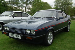 Stylishly Injected (dhcomet) Tags: charity ford capri hatfield injection carshow hertfordshire herts wgc makeawish stanboroughpark welwynhatfield hertsautoshow