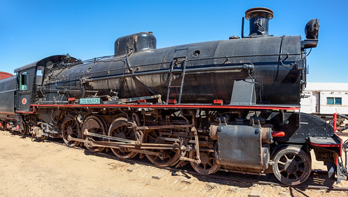 Old Ghan Steam Engine