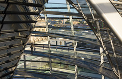 Reichstag Dome Interior III (Paul 'Tuna' Turner) Tags: city travel vacation holiday berlin history architecture germany deutschland europe eu parliament historic reichstag german dome government historical bundestag mitte tiergarten europeanunion houseofparliament deutsch sirnormanfoster historicbuilding capitalcity neoclassicalarchitecture paulwallot germangovernment neobaroquearchitecture