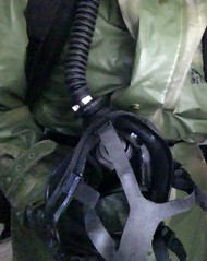 Czech Rubber Suit / S10 Gas Mask (nggmrbbr) Tags: nbc mask czech rubber gas suit hazmat s10 chemical enclosed respirator opch70