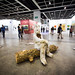 """Installation by Marnie Weber: Log Lady & Dirty Bunny, 2009 (Mixed Media)"" / Simon Lee Gallery / Art Basel Hong Kong 2013 / SML.20130523.6D.14087"