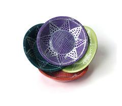 4 Colorful Bowls (jmnpottery) Tags: ceramics pottery jmnpottery etsy bowls pots planters utensilholder prepbowls mugs