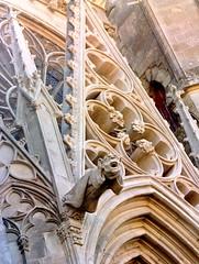 CARCASSONNE OLD CITY GARGOUILLES (patrick555666751) Tags: carcassonne old city gargouille aude france europa occitanie cite de carcassonneoldcitygargouille gargoyles flickr hear group