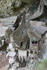 Old Coffins and Bones (Hank888) Tags: toraja skull bones hank888 sulawesi indonesia