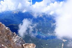 Eibsee from Zugspitze (RunningRalph) Tags: deutschland duitsland germany lake meer see zugspitze garmischpartenkirchen bayern