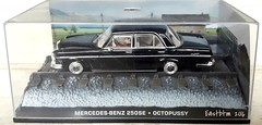 Mercedes Benz 250SE Pic 1 (Eastbtm - I am back online again. :)) Tags: mercedes benz 250se scale 143 british secret agent james bond actor rogermoore octopussy