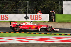 Sebastian Vettel (kevinmcevey) Tags: sebastianvettel scuderiaferrari heineken ferrari secondavariante 3rdpractice grandprix italiangrandprix 2016italiangrandprix granpremioditalia2016 formulaone formula1 f1 motorsport motorsports motorracing autodromonazionalemonza monza italy