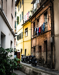 Back streets San Remo (Paul Griffiths Photos) Tags: ifttt 500px sanremo italy italia travel street photography architecture washingline yellow