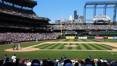 From Section 123 Row 17 (Jeffxx) Tags: seattle mariners safeco baseball yankees game 2016 august field 123 section row 17 seat masahiro tanaka
