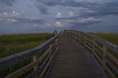 (amy20079) Tags: boardwalk walkway beach ocean sea newengland bluehour evening summer seaside massachusetts