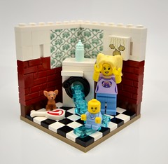 The Babysitter (MinifigNick) Tags: series16 babysitter baby lego minifig brickfanatics