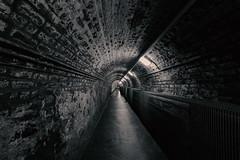Belfast  Mo Vidal (mo vidal) Tags: schwarzweis sw ambient tunnel