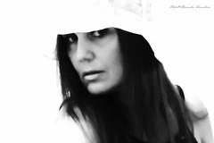 On your heart it fell my first look. Johann Christoph Friedrich von Schiller (alessandrafinocchiaro67) Tags: monochome black white portrait woman beauty beautiful face inside mood artisawoman