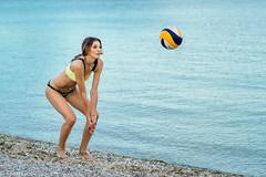 DSC07228 (Tjien) Tags: beach volleyball summer 2016 bfg swimsuit portrait outdoorportrait